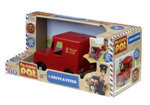 Image of Postman Pat Drive and Steer Pats Van