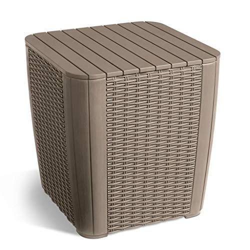 Generic Möbelbox Fußhocker Hocker Garten Beistelltisch Garde Hocker Sitz E Box FOO Coffee Storage Tisch Outdoor Möbel