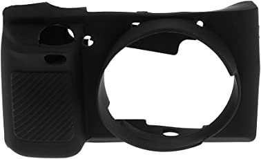 Segolike Rubber Protect Camera Body Case Soft Protector Cover for Sony A6000 Black