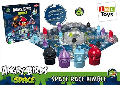 Angry Birds Juego Action Space Race, Juego de Mesa Infantil/Juvenil