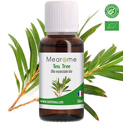 Olio Essenziale di Tea Tree • 100 % Puro, Naturale e Vegano • Olio Essenziale per Aromaterapia,...