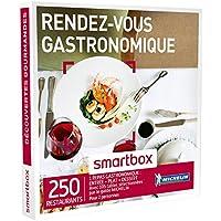 SMARTBOX - Coffret Cadeau - RENDEZ-VOUS GASTRONOMIQUE - 250 restaurants avec 132 restaurants du guide MICHELIN