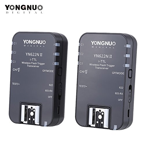 YONGNUO-YN622-24G-Wireless-i-TTL-flash-Trigger-Ricevitore-Trasmettitore-Transceiver