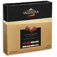 De la puissance d'Abinao à la douceur de Tanariva, découvrez la palette de goûts Valrhona à travers 6 Grands Crus de chocolat noir et 2 Grands Crus de chocolat au lait. Chocolat au lait (33% de cacao minimum, pur beurre de cacao) et chocolat noir (64...