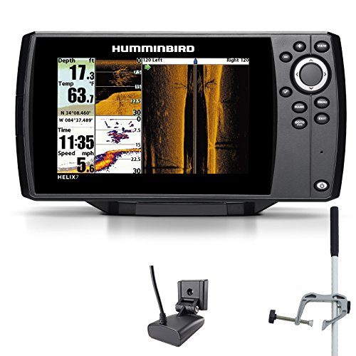 Humminbird Helix 7 SI GPS Side Imaging Echolot Seekartenplotter Combo Portabel Master