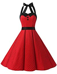 Amazon.it  vestiti pin up  Abbigliamento 4410c95c51e5