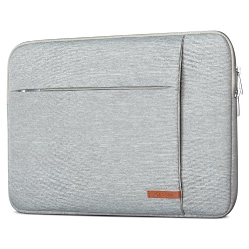CASEZA Laptophülle 13-13.3 Zoll Grau London Laptop Sleeve Laptoptasche Hülle für MacBook Air 13