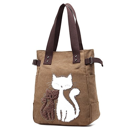 Anne, Borsa a spalla donna nero Ray Coffee