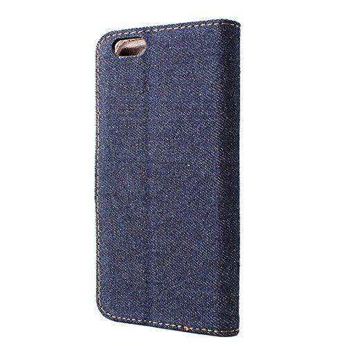 iPhone 6, Denim, P,, plastik, dunkelblau, iPhone 6 (11,9 cm / 4,7 Zoll) dunkelblau