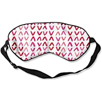 Comfortable Sleep Eyes Masks Red Symbol Printed Sleeping Mask For Travelling, Night Noon Nap, Mediation Or Yoga preisvergleich bei billige-tabletten.eu