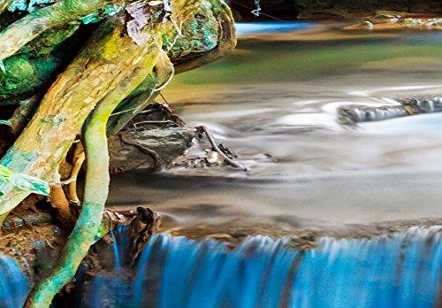 murando - Acrylglasbild Landschaft 200x100 cm - 5 Teilig - Glasbilder - Wandbilder XXL - Wandbild - Bilder - Natur Wasserfall Thailand Baum Wald b-B-0080-k-m - 6
