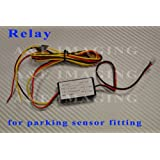 12V RELAY for CISBO parking reversing sensor fitting for CANBUS car connection to ignition power source