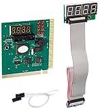 LEAGY 4-stellige PCI ISA-PC-Motherboard Analyzer Tester Debug-Karte mit externer