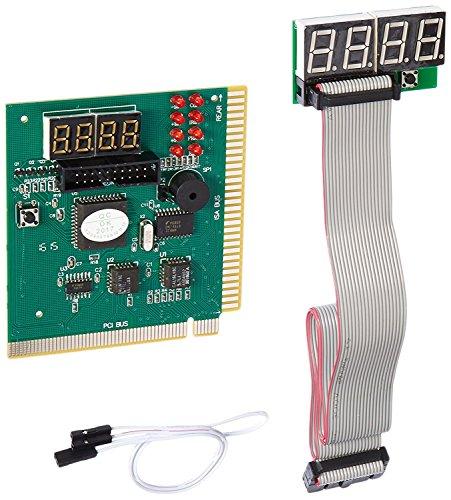 Debug-karte (LEAGY 4-stellige PCI ISA-PC-Motherboard Analyzer Tester Debug-Karte mit externer)