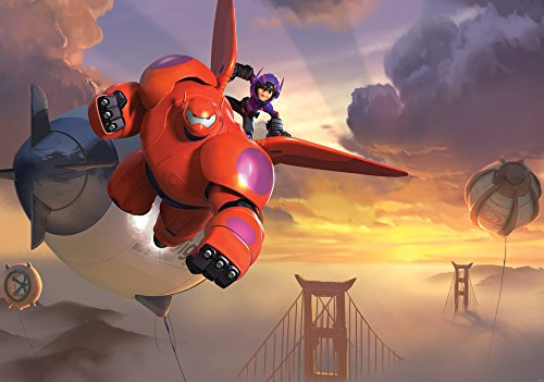 apete Disney Big Hero 6, 1 Stück, 1736P4 (Superhelden-dekor)
