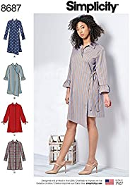 Simplicity Patterns Creative Us8687Bb Pattern Misses'/Women'S Shirt