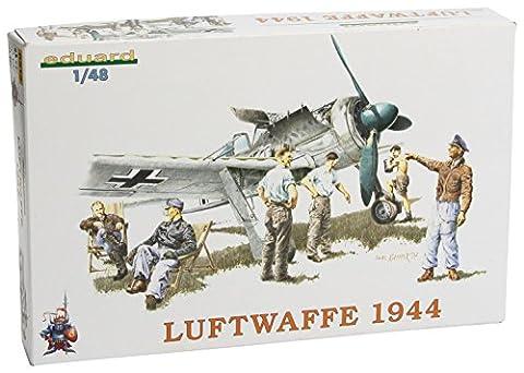 Eduard EDK8512 Luftwaffe Fighter Crew 44 1:48 Plastic Kit Maquette