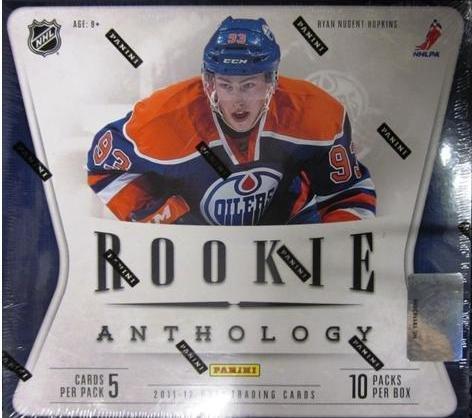 2011/12 rookie anthology panini hobby box boîte d