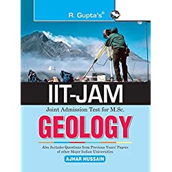 IIT-JAM: M.Sc. GEOLOGY Previous Years Paper (Solved): Collection of Various Entrance Exams MCQs