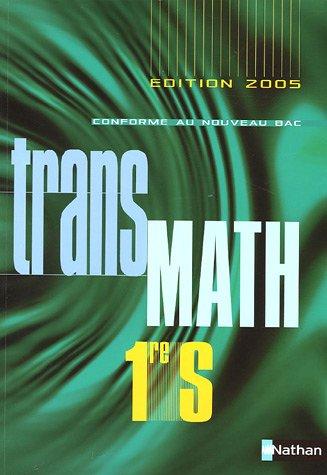 Transmath 1e S - Programme 2005