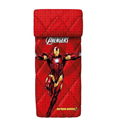 Bassetti 9286362 iron man trapunta colore rosso singolo