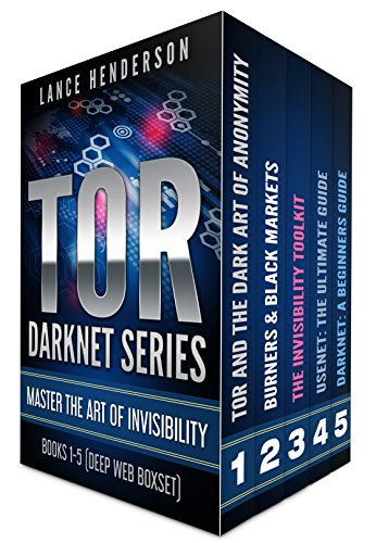 TOR DARKNET BUNDLE (5 in 1) Master the ART OF INVISIBILITY (Bitcoins