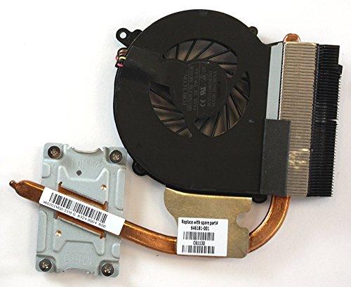 Compaq Presario CQ43, Compaq Presario CQ43–174LA, Compaq Presario CQ43–175LA, HP 646181–001Integrated Graphics Version Kompatibler Laptop-Lüfter mit Kühlkörper Für Intel Pentium Prozessoren