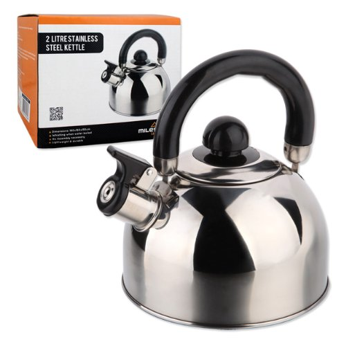 51X22K3RqEL. SS500  - Milestone Camping Whistling Kettle Teapot Coffee Pot Indoor Outdoor Camping Hiking Picnic