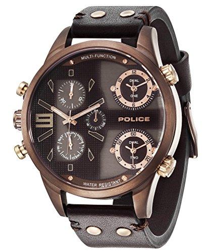 Police P14374JSBN-12 Uhr Copperhead