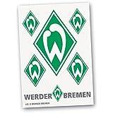Werder Bremen Aufkleber Raute Außenklebend