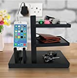 #5: Tied Ribbons Mobile Wallet Watch Keyrings Organizer for Office Desk Table