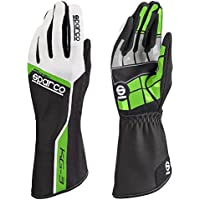 Sparco 00255310VF Guantes, Verde, 10