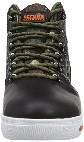 Scruffs Derwent Boot Sbp, Chaussures de sécurité Homme Noir (black)