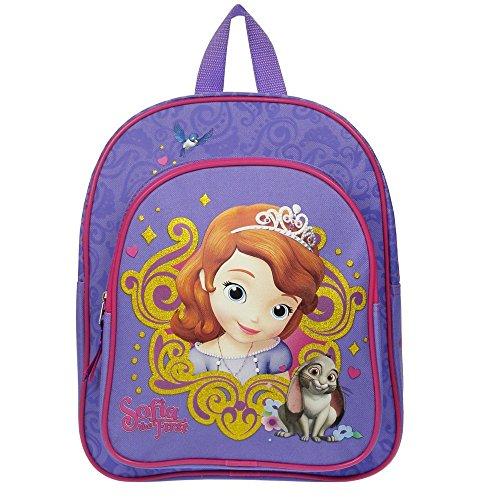 Disney Princess - Sofia die Erste - Kinder Rucksack Royal 31 x 25 x 9cm (Disney Princess Lila)