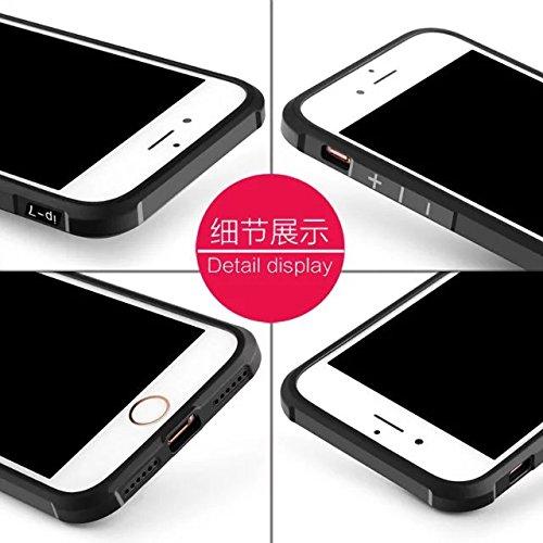 Wkae IPhone 7 Plus Case, geprägte Lackierung Premium-Qualität inklusive inkl. Schutz Shockproof Ultra-dünne weiche TPU-Rückseitenabdeckung Für IPhone 7 Plus ( Color : 1 ) 8