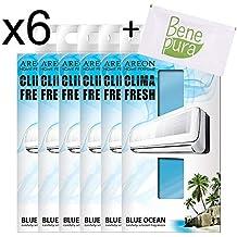 AREON Clima Fresh - Ambientador para habitación, diseño de océano Azul, para casa,
