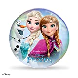 Oral-B Kids Stages Disney Frozen Replacement Pink Toothbrush Heads, Refills for Electric Toothbrush, Suitable for Children Aged 3-6 Years, Pack of 4