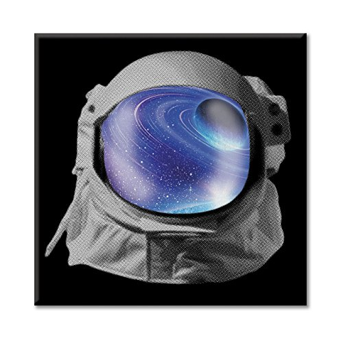 Leinwand Bild Canvas Helm Astronaut Weltraum Universum Bild Planeten Terra ARRED (Astronaut Kostüm Bilder)