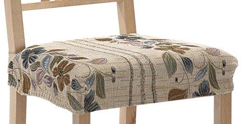 Martina Home Thalia Pack de 2 Fundas de Asiento para Silla, Tela,, 24x30x6 cm