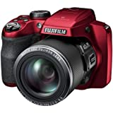FinePix S8200 Camera Red 16MP 40xZoom 3.0LCD FHD 24mm Wide Lens