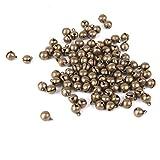 Best Beadaholique Charm Bracelets - Imported 100pcs Antique Bronze Brass Jingle Bells Charm Review
