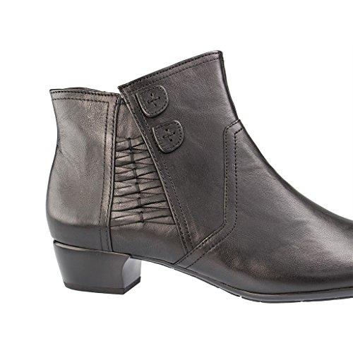Gabor Shoes 56.643 Stivaletti Da Donna Neri Micro