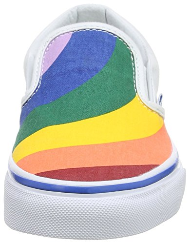 Vans Damen Ua Classic Slip-On Sneakers Mehrfarbig (Rainbow)