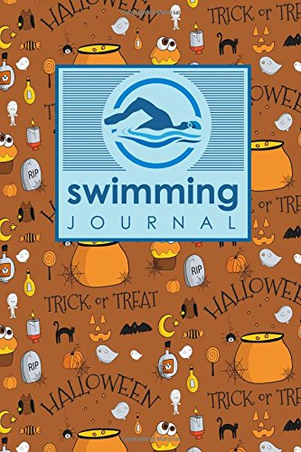 im Log Book, Swimming Pool Log, Swimming Diary, Swim Log, Cute Halloween Cover ()