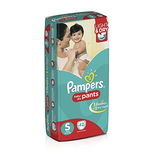 Pampers Small Size Diaper Pants (42 Count)