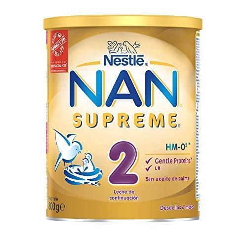 NAN SUPREME 2 - Leche de continuación en polvo Premium - Fórmula para...