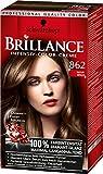 Brillance Intensiv-Color-Creme, 862 Naturbraun, 3er Pack (3 x 1 Stück)