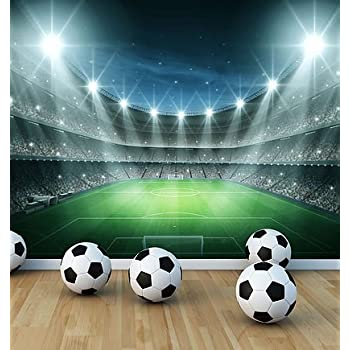 Football Stadium Wall Mural Photo Wallpaper Boys Kids Bedroom Playroom  (Large 1500mm X 1150mm) Part 44
