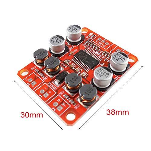 HW-644 TPA3110 Chip Digital Power Amplifier Modul 2x15W Zweikanal-Stereo-Sound DIY Lautsprecher-Verstärker-Board (rot)