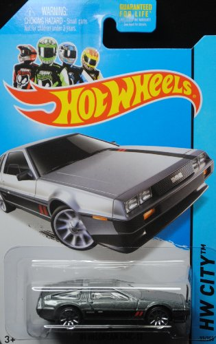 2014 Hot Wheels '81 Delorean DMC-12 33/250 HW City by Hot Wheels